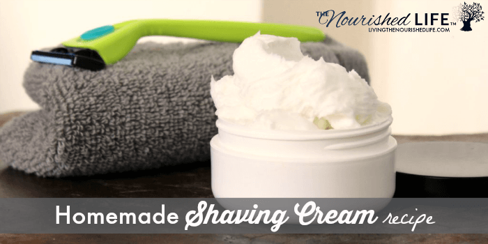 Homemade Shaving Cream Recipe with Witch Hazel Extract