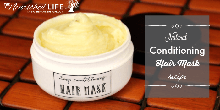 Deep Conditioning Hair Mask Recipe for Dry, Brittle Hair