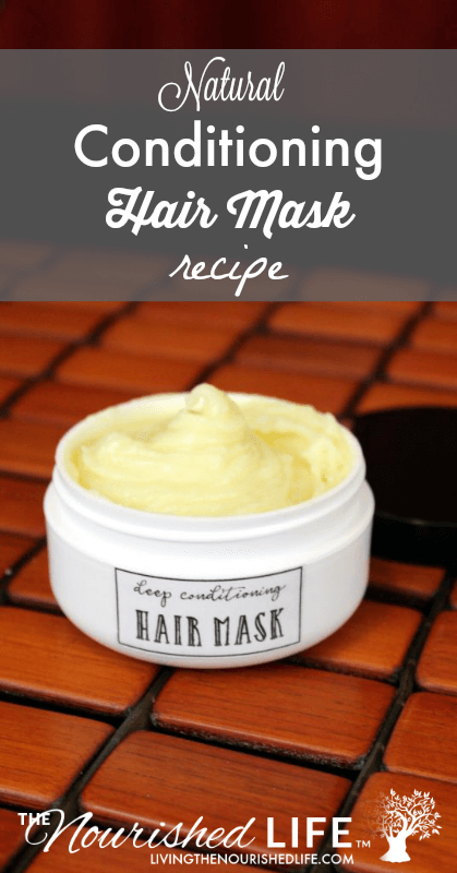 This natural rich conditioning hair mask recipe is wonderful at tackling your hair care needs. Whether your hair is a mountain of frizz, or if it simply lacks some normal moisture and luster, you'll find that this natural hair mask treatment is the perfect solution. #conditoner #hairmask #hairconditioner #deepconditioning