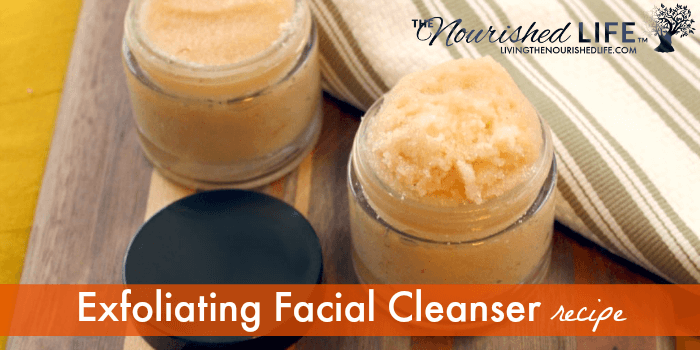Exfoliating Facial Cleanser Recipe