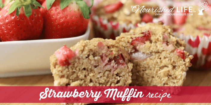 Healthier Strawberry Muffin Recipe
