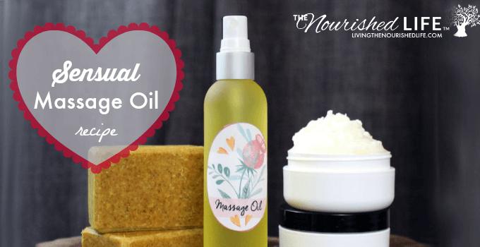 Sensual Massage Oil Recipe for Valentine's Day