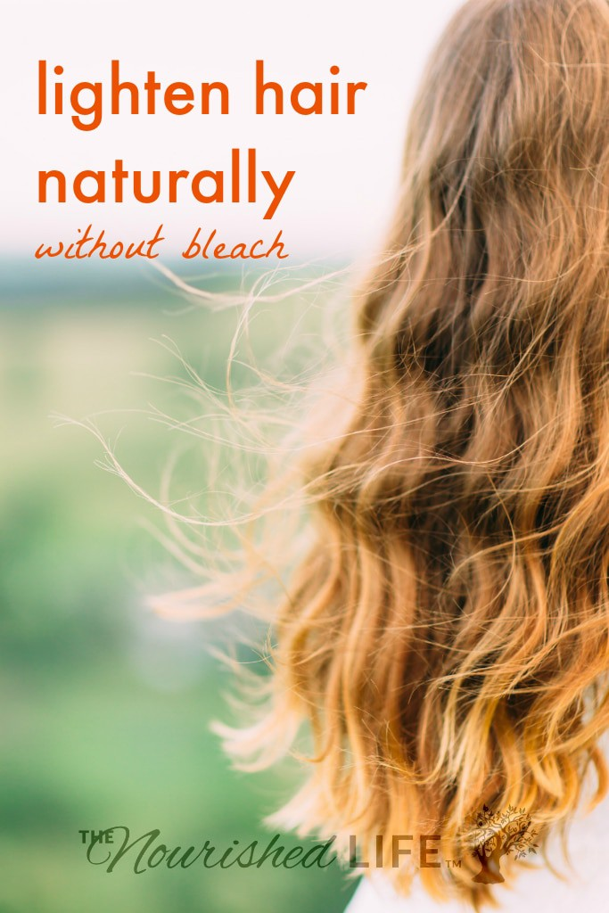 5 ways to naturally lighten your hair at home (without bleach!)