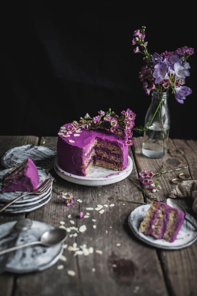 Healthy Wedding Cakes: Earl Grey Lemon Cake