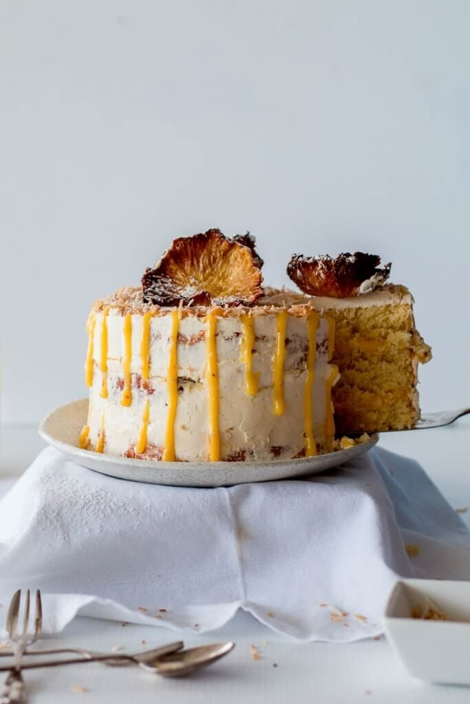 Passion Fruit Wedding Cake Recipe