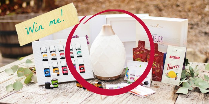 Desert Mist Diffuser Giveaway! (Retail Value $83.88)