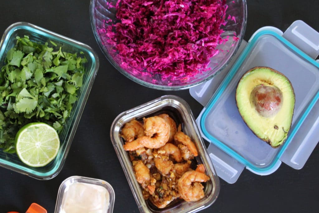 Healthy Shrimp Tacos Recipe: Ingredients