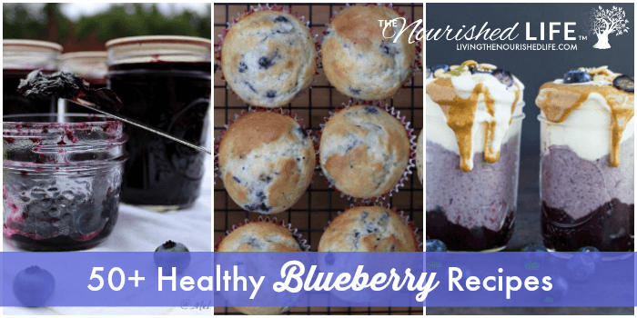 50+ Healthy Blueberry Recipes