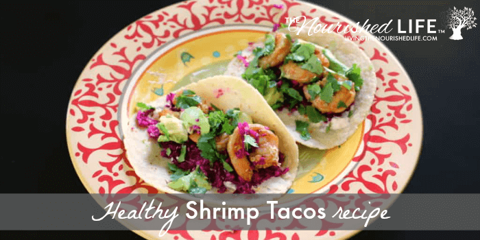 Healthy Shrimp Tacos with Lime Slaw