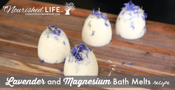 Lavender and Magnesium Bath Melts Recipe (and how to promote restful sleep)