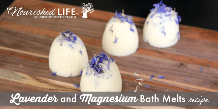 Lavender and Magnesium Bath Melts (and How to Promote a Restful Sleep)