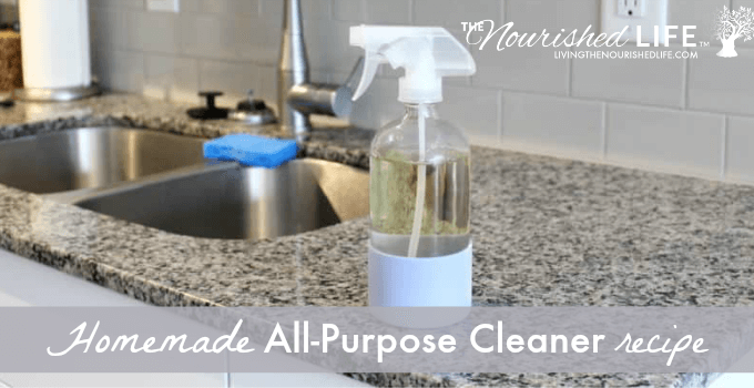 Homemade All-Purpose Cleaner Recipe