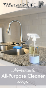 Homemade All-Purpose Cleaner Recipe for an Effective Natural Clean