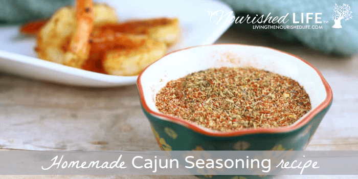 Homemade Cajun Seasoning Recipe