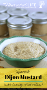 Homemade Dijon Mustard Recipe with Canning Instructions