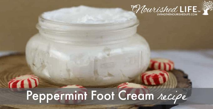 Peppermint Foot Cream Recipe