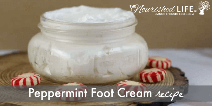 Peppermint Foot Cream Recipe