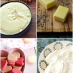 Collage of DIY lotion and moisturizer recipes